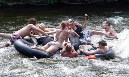 Tubing for Two or Tubing and Two Nights of Camping for Two or Four at River's Edge Apple River (Up to 70% Off)