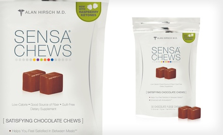 30-Pack of Sensa Chews in Chocolate Fudge