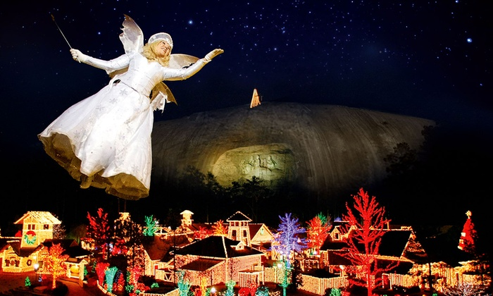 Stone Mountain Park - Stone Mountain, GA: One or Four Tickets to Stone Mountain Christmas at Stone Mountain Park (Up to 36% Off)