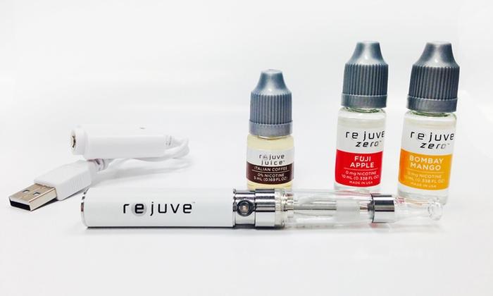 Rejuve Vape Juice Pen Kits: Classic or Nicotine-Free e-Cigarette Vape Juice Pen Kit from Rejuve Cigs. Multiple Flavors Available.