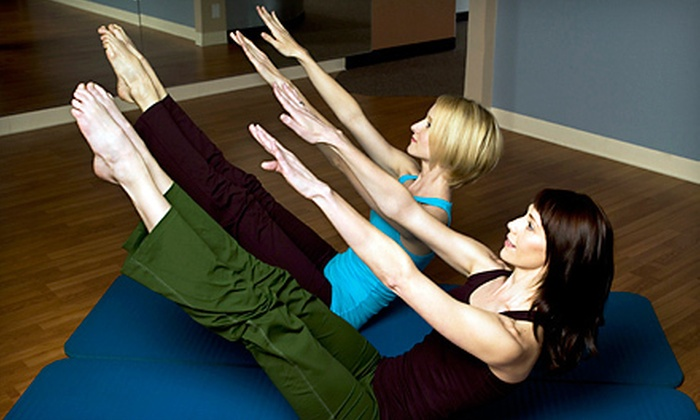 Pilates Studio City - Multiple Locations: 5 or 10 Group Pilates and Fitness Classes, or Two 55-Minute Private Pilates Sessions at Pilates Studio City (50% Off)