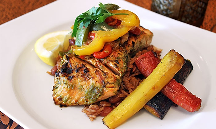 La Creole - Oakwood - Vaughn: Four-Course Prix-Fixe Meal for Two or for Two or Four with Wine at La Creole (Up to 48% Off)
