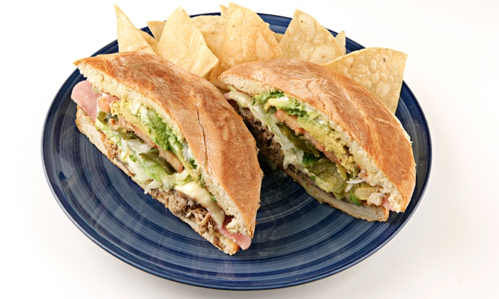 Tortas Mexico - Montrose Verdugo City: Two or Four Groupons, Each Good for $10 Worth of Mexican Cuisine at Tortas Mexico (40% Off)