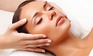 The Spa Room: Custom Facial, Luminosity Facial, or One or Three Microdermabrasion Treatments at The Spa Room (Up to 53% Off)
