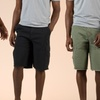 $24.99 for Banana Split Cargo Shorts with Leather Trim Belt