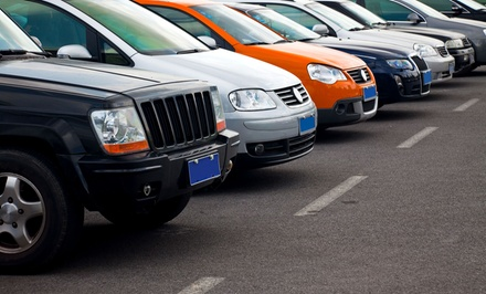 $12 for Three Days of Parking with Shuttle Service to and from Airport from Executive Valet Parking ($26.92 Value)
