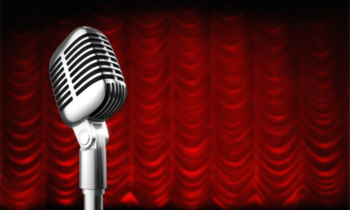 Comedy at the Courtyards - Courtyards of Andover Event Center : Comedy at the Courtyards with Buffet for One or Two at Courtyards of Andover (Up to Half Off). Six Dates Available.