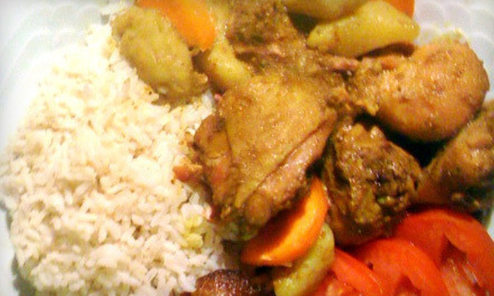 Jerk Machine - Multiple Locations: Two-Course Jamaican Meal for Two or Four at Jerk Machine (Up to 58% Off)