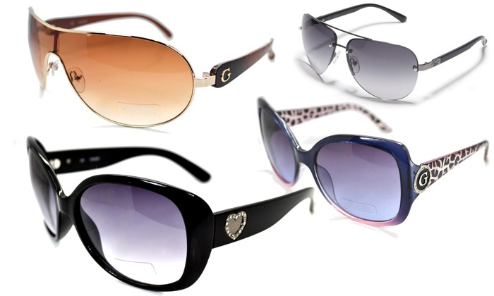 935cd294ae Lunettes de soleil Guess mixtes | Groupon Shopping