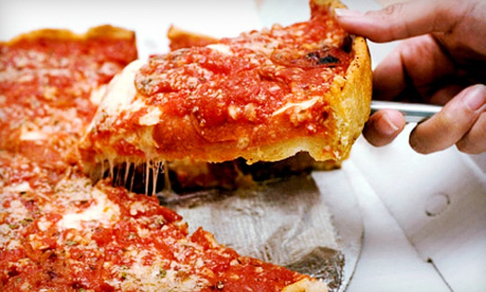 East of Chicago Pizza - Southwyck: All-You-Can-Eat Pizza Buffet for Two or Four at East of Chicago Pizza (53% Off)