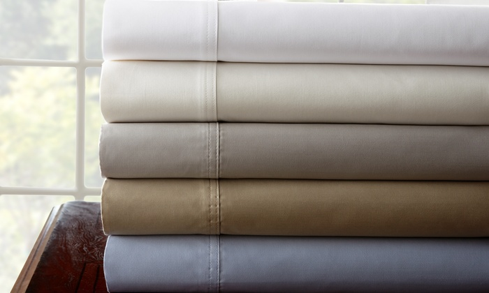 1000-Thread-Count 100% Egyptian-Cotton Sheets: Pacific Coast Textiles 1,000-Thread-Count 100% Egyptian-Cotton Sheet Sets. Multiple Colors Available. Free Returns.