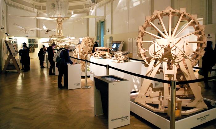 Leonardo3 - LEONARDO3: Il Mondo di Leonardo - Biglietto per la mostra con oltre 200 modelli e ricostruzioni a 6 €
