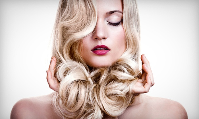 Dino Palmieri Salon - Multiple Locations: Haircut with Optional Single-Process Color, or Partial or Full Highlights at Dino Palmieri Salon (Up to 53% Off)