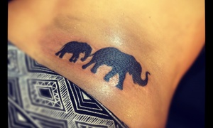 Machineworks Studios Custom Tattoos: Four Hours of Tattooing at MachineWorks Studios Custom Tattoos (50% Off)