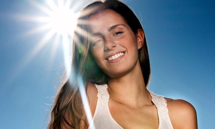 UV Free Organic Tan - Lakeview: One or Three Organic Spray Tans at UV Free Organic Tan (Up to 58% Off)