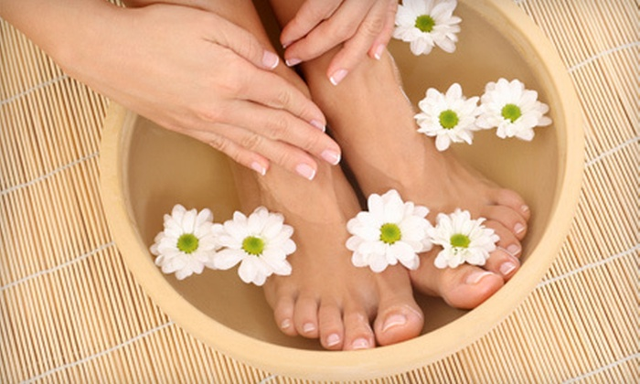 Patricia at I Do Nalz - Groveland: Basic Mani-Pedi or Shellac Manicure with Spa Pedicure from Patricia at I Do Nalz (Up to 54% Off)