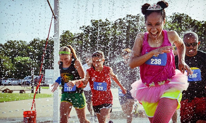 Splash Dash 5K - Pomona: Entry for One or Two Adults in the Splash Dash 5K or One or Two Kids in the Splash Dash 1K (Up to 60% Off)