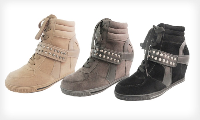 Bucco Women's Wedge Sneakers: $19 for Bucco Udale Women's Wedge Sneakers ($80 List Price). Multiple Colors and Sizes Available. Free Shipping.