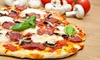 Gus' Italian Grille Xpress - Howland Center: Carryout Pizza Dinner for Two or Four or $20 Worth of Italian Fare at Gus' Italian Grille Xpress (Up to 51% Off)