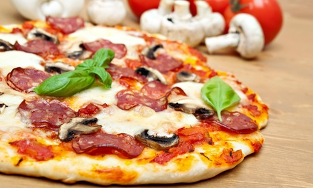 Carryout Pizza Dinner for Two or Four or $20 Worth of Italian Fare at Gus' Italian Grille Xpress (Up to 51% Off)