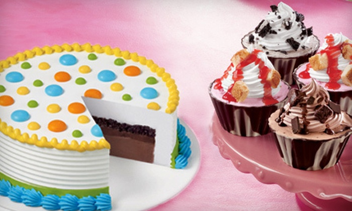 Dairy Queen Grill & Chill (Surrey) - Surrey: C$8 for C$15Worth of Ice-Cream Cupcakes or Treatzza Pizza at Dairy Queen Grill & Chill