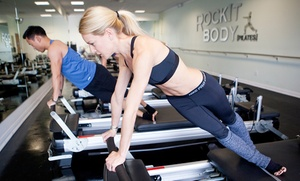 RockIt Body Pilates: Three or Five Pilates, Indoor Cycling, or Fitness Classes at RockIt Body Pilates (Up to 72% Off)