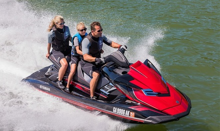One  30- or 60-Minute Jet Ski Rental at Fly JetSkis (Up to 65% Off)