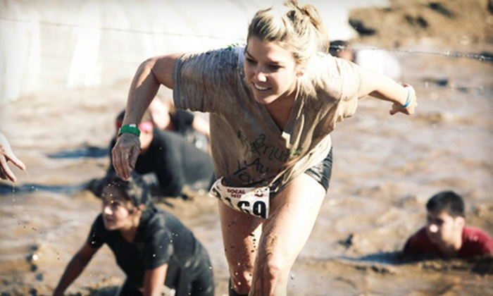 Rugged Maniac 5K Obstacle Race - Virginia Motorsports Park: $34 for Sunday Race Entry from Rugged Maniac on May 5 at Virginia Motorsports Park ($68 Value)