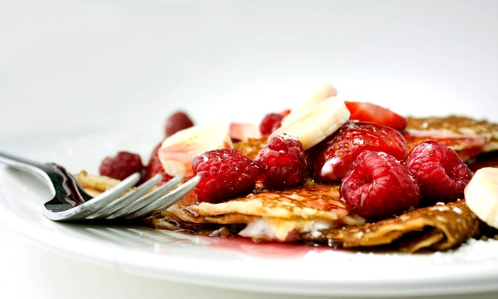 A.B.'s on Mass - Oread: $10 for Two Groupons, Each Good For $10 Worth of Crepes and Coffee at A.B.'s on Mass ($20 Value)