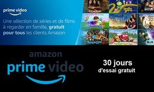 30 jours d'essai gratuit à Amazon Prime Vidéo