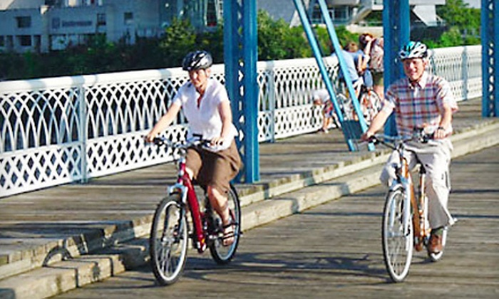 Chattanooga Electric Bikes - North Chattanooga: Four- or Eight-Hour Electric-Bicycle Rental from Chattanooga Electric Bikes (Up to 59% Off)