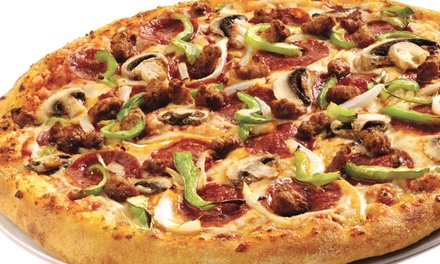 $6 for $10 eGift Card to Domino's Pizza