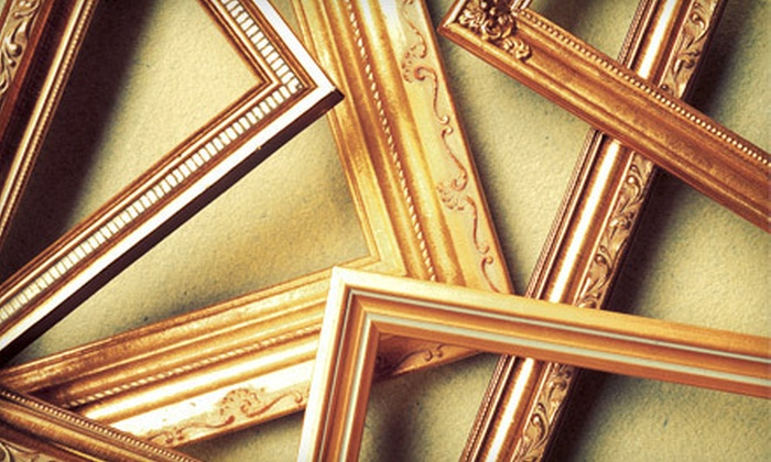Woodland Art & Frame - Grogan's Mill: Custom Framing at Woodland Art & Frame in Spring (Up to 53% Off). Two Options Available.