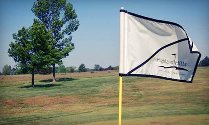 Highland Hills Golf Club - Olive: 18-Hole Round of Golf with Cart Rental for Two or Four at Highland Hills Golf Club (Up to 53% Off)