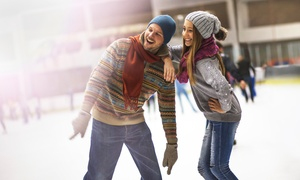 The Pond Family Friendly Ice Rink: Ice-Skating Packages at The Pond Family Friendly Ice Rink (Up to 50% Off). Four Options Available.