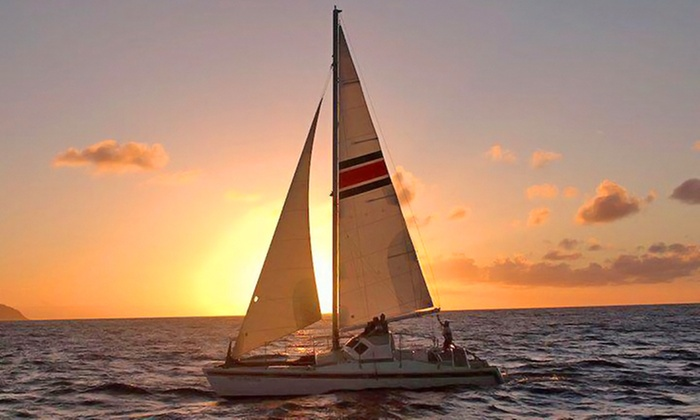 North Shore Catamaran Charters: Sunset Cruise for an Adult or Child from North Shore Catamaran Charters (Up to 50% Off)
