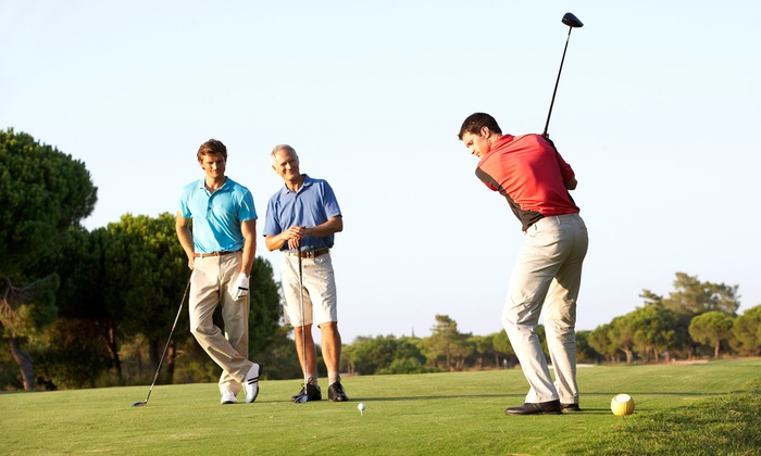 Pioneer Hills Golf Course - Malta Avenue: 18 Holes of Golf with Cart for Two or Four at Pioneer Hills Golf Course (Up to 41% Off). Four Options Available.