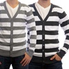 Dinamit Men's Thick-Stripe Cardigans