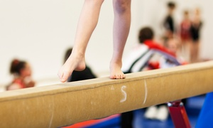 Gold Coast Gymnastics: One Month of Kids' KinderGym Classes with Optional Kids' Night Out at Gold Coast Gymnastics (Up to 55% Off)