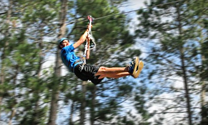 Character Challenge Course - Park Rapids: 3G Swing Ride or Obstacle-Course Challenge for Two at Character Challenge Course in Park Rapids (Up to Half Off)