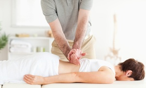 Kats Chiropractic Center: Chiropractic Package or One or Two Massages at Kats Chiropractic Center (Up to 89% Off)