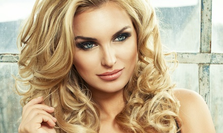 Haircut and Blow Dry with Optional Single-Process Color, or Keratin Treatment at Nicole's Salon (Up to 67% Off)