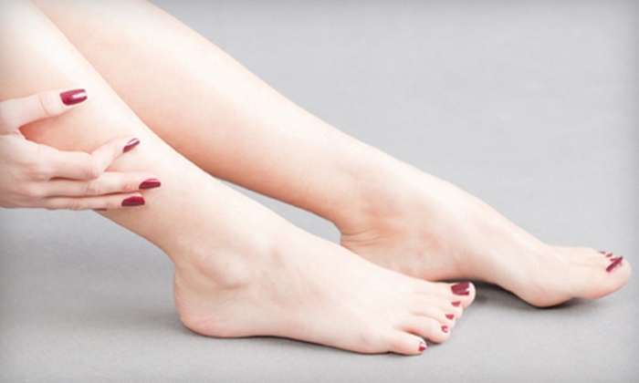 The Chic Nail Boutique - Lawrence: $22 for an Essential Manicure and Pedicure at The Chic Nail Boutique ($45 Value)