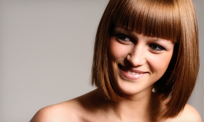 Par Excellence Salon & Spa - Bridgeton: Haircut and Conditioner with Optional Partial Highlights or All-Over Color at Par Excellence Salon & Spa (Up to 57% Off)