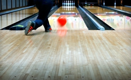 One or Two Hours of Five-Pin Bowling with Shoe Rentals for Up to Six at Dell Lanes (Up to 67% Off)