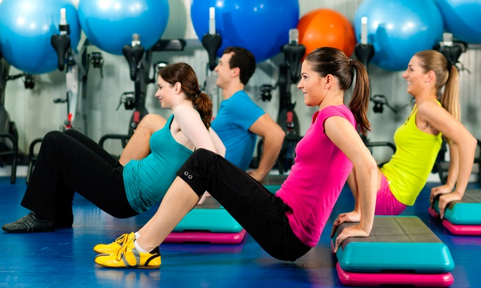 Kick@55 Fitness - Near North Side: One Month of Unlimited Boot Camp Classes, or 10 or 15 Boot Camp Classes at Kick@55 Fitness (Up to 77% Off)