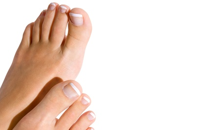 Laser Toenail-Fungus Removal for One or Two Feet at Novato Foot Health Center (67% Off)