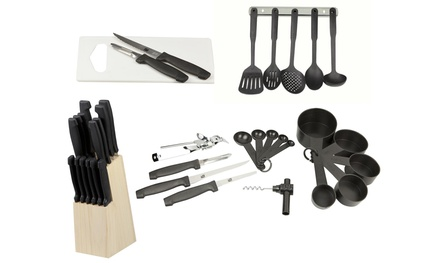 Home Basics Deluxe Kitchen 41-Piece Starter Set