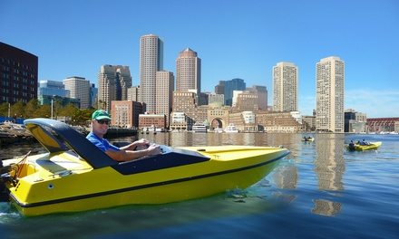 $99 for a Mini-Speedboat Tour with Souvenir Photo from Boston Harbor Mini Speed Boats, Inc. ($159.95 Value)