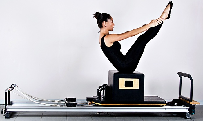 Pilates Plus - Coral Cove: Three or Five Private Pilates Reformer Classes or One Month of Unlimited Fitness Classes at Pilates Plus (Up to 60% Off)